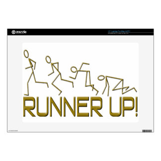 "Runner Up! 15"" Laptop Decals"