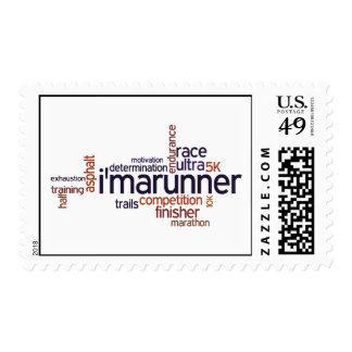 Runner Word Pride Stamp