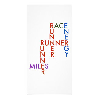 Runner Word Puzzle Card