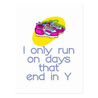 RunnerChick Days Postcard