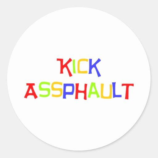 RunnerChick Kick Sticker