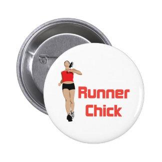 RunnerChick Logo Button