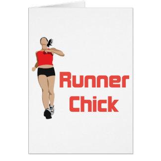RunnerChick Logo Card
