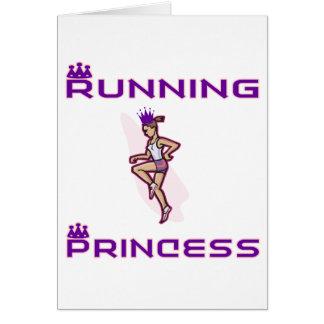 RunnerChick Princess Card