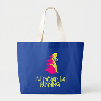 RunnerChick Rather Tote Bags