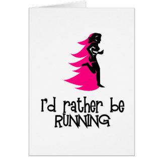 RunnerChick Rather Card