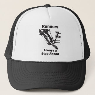 Runners Always a Step Ahead Trucker Hat