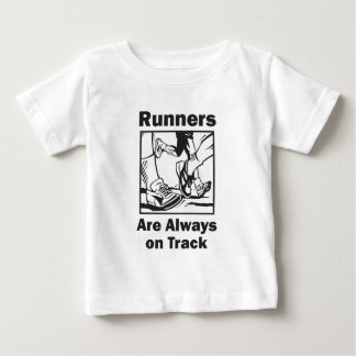 Runners Always on Track Baby T-Shirt
