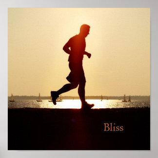 Runners-Bliss Poster