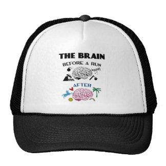 Runners Brain Trucker Hat