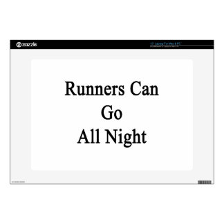 Runners Can Go All Night Laptop Decals
