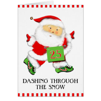 Runners Christmas Cards