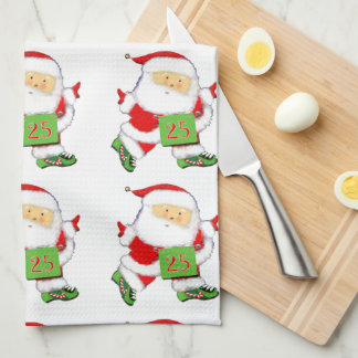 runners Christmas holiday gifts Hand Towel