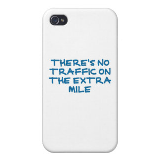 Runner's Extra Mile (cool blue) iPhone 4/4S Cases