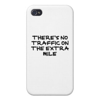 Runner's Extra Mile (strong black) iPhone 4/4S Cases