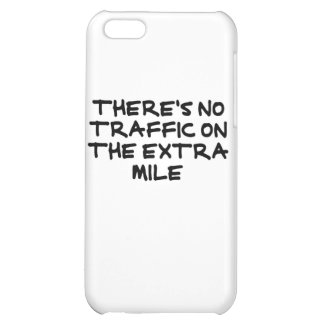 Runner's Extra Mile (strong black) iPhone 5C Covers