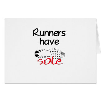 Runners Have Sole Cards