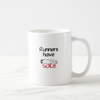 Runners Have Sole Classic White Coffee Mug