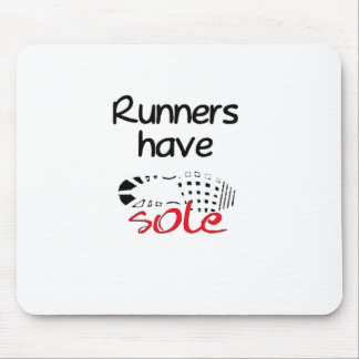 Runners Have Sole Mouse Pad