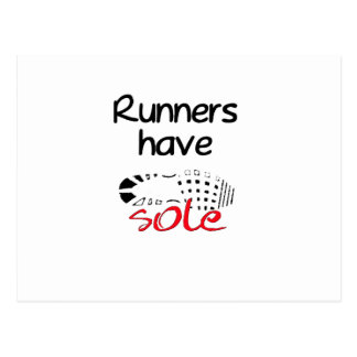 Runners Have Sole Post Cards