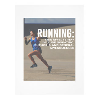 Runners High Running Is Awesome Letterhead