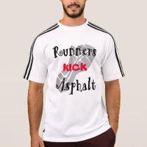 Runners Kick Asphalt Adidas SS T-Shirt