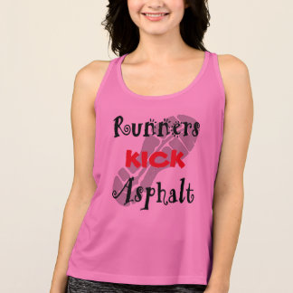 Runners Kick Asphalt - All Sport Tank