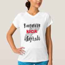 Runners Kick Asphalt Champion SS T-Shirt
