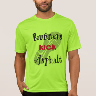 Runners Kick Asphalt Sport-Tek SS Fitted T-Shirt