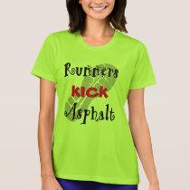 Runners Kick Asphalt Sport-Tek SS T-Shirt