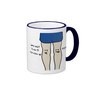 Runners Knees Ringer Mug