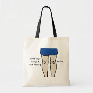 Runners Knees Tote Bag
