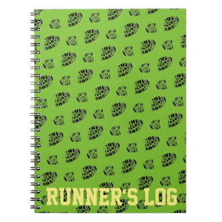 Runner's Log Activity Notebook