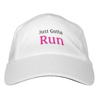 Runners Mantra Just Gotta Run Headsweats Hat