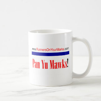 Runners On Your Marks Classic White Coffee Mug