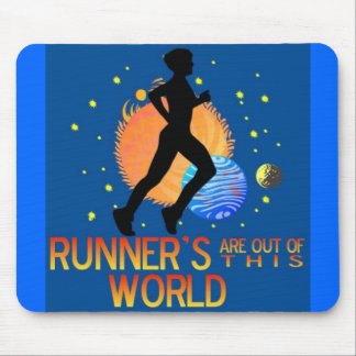 RUNNER'S OUT OF THIS WORLD MOUSEPAD