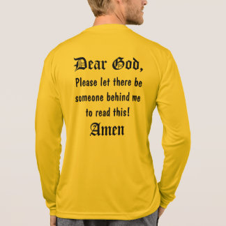 Runner's Prayer - Sport-Tek LS T-Shirt
