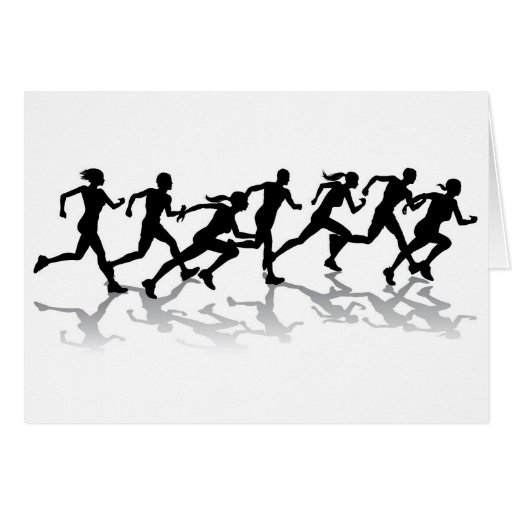 Runners racing cards