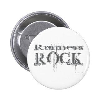 Runners Rock Pinback Button