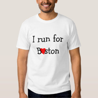 Runners - Show your love for Boston T-Shirt