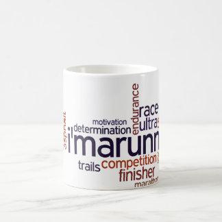 Runner's Words Coffee Mug