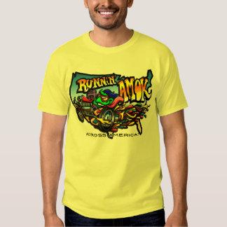 Runnin' AMOK Across America Tour Shirt