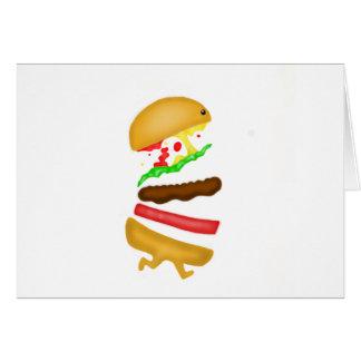Runnin burger card