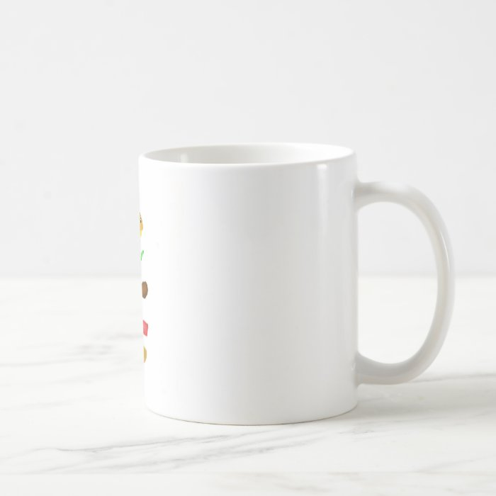Runnin burger coffee mug