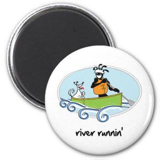 """Runnin'"" del río Imán Redondo 5 Cm"