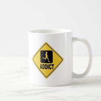 Running 1 classic white coffee mug