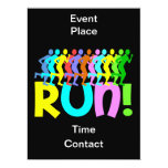 """running 6.5"""" x 8.75"""" invitation card"""