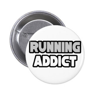 Running Addict Pin