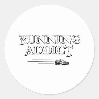 Running Addict sticker