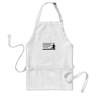 Running and Steeplechase Adult Apron